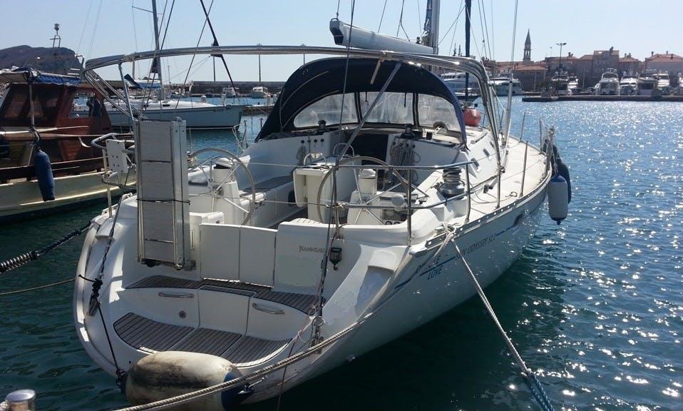 Charter Sun Odyssey 52.2 Sailing Yacht in Montenegro