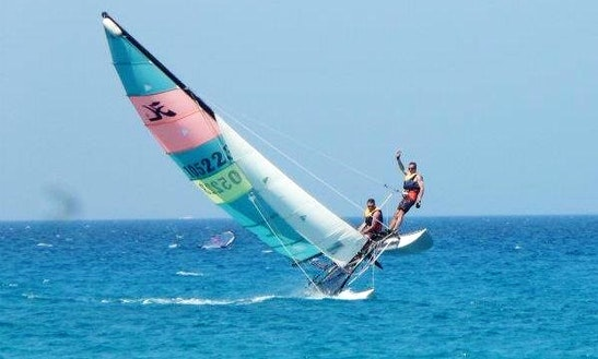 Hobie 16 Sailing Courses And Rentals In Santa Lucia