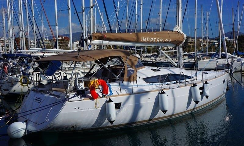 Charter Thetis, Elan i45 Yacht in Alimos