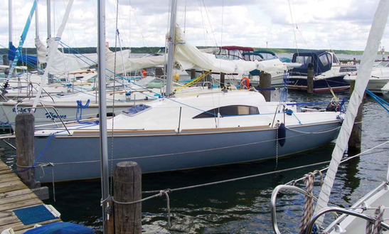 24' Sailing Charter In Klink Germany