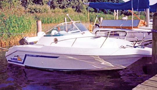 German 18' Motor Yacht Charter In Klink