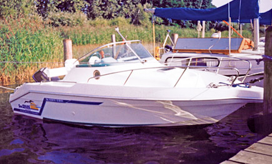 German 18' Motor Yacht Charter In Klink