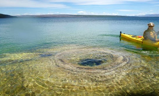 Sea Kayak Trip In Yellowstone Wyoming