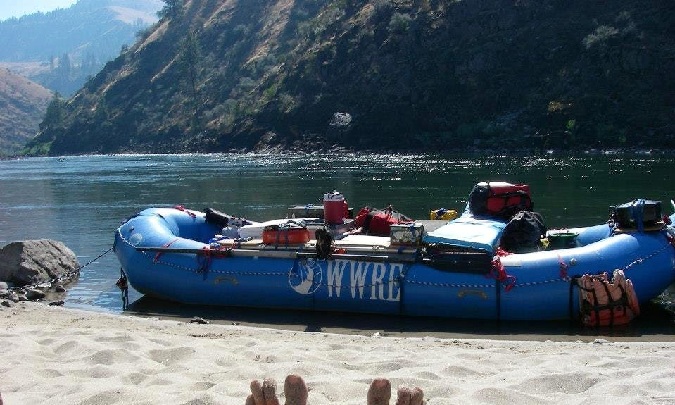 River Rafting on the Grande Ronde River in Oregon