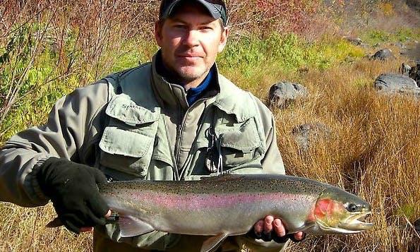 Steelhead Fishing on the Wallowa River in Oregon
