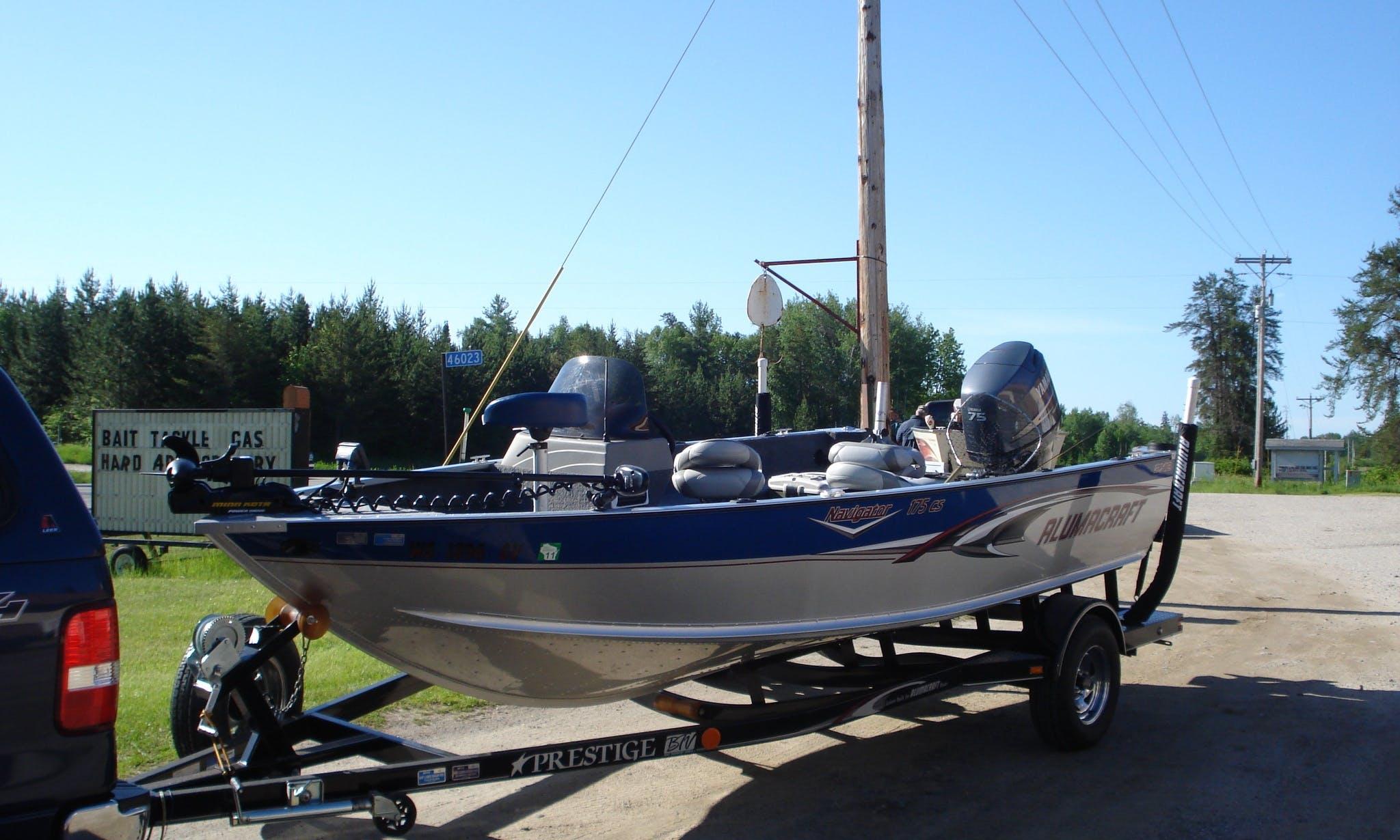 Aluminum Fishing Boat in Delavan, Wisconsin