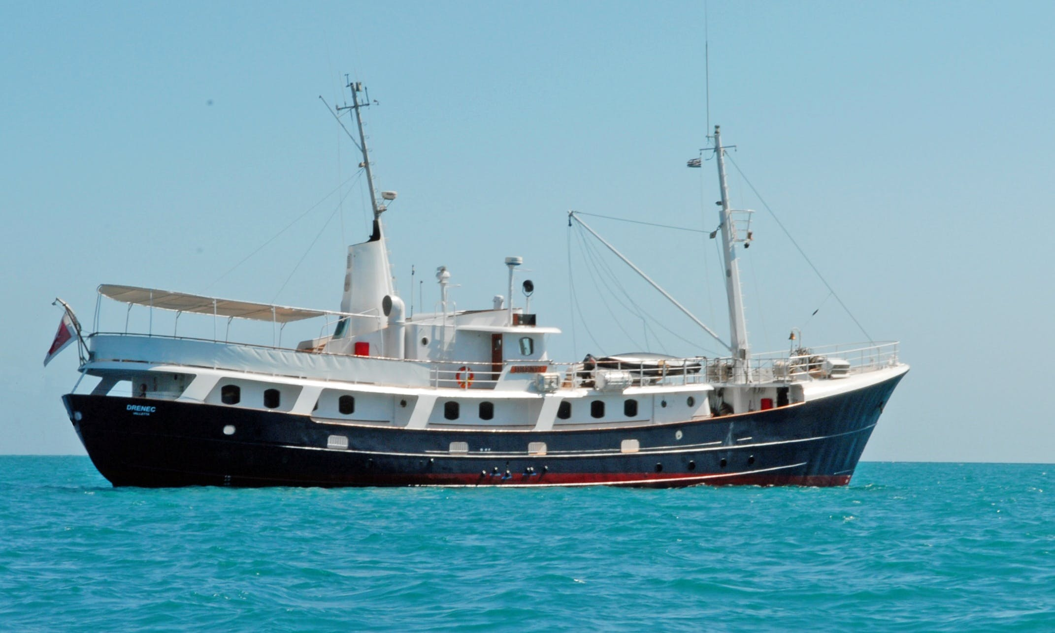MY Drenec Yacht Charter in Myanmar