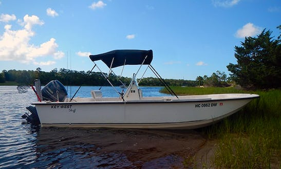 Rent 21' Key West Center Console In Kure Beach, North Carolina
