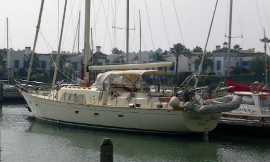 65' Classical Motorsailer Charter In Spain