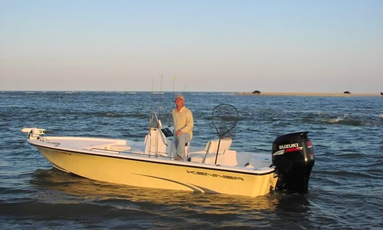 Rent 21' Kenner Center Console In Kure Beach, North Carolina