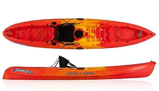 Sit-on-top Single Kayak Rental In Page