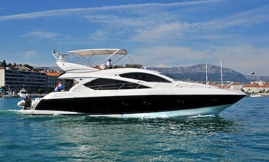 Skippered 60' Sunseeker Yacht Charter