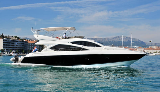 Skippered 60' Sunseeker Yacht Charter