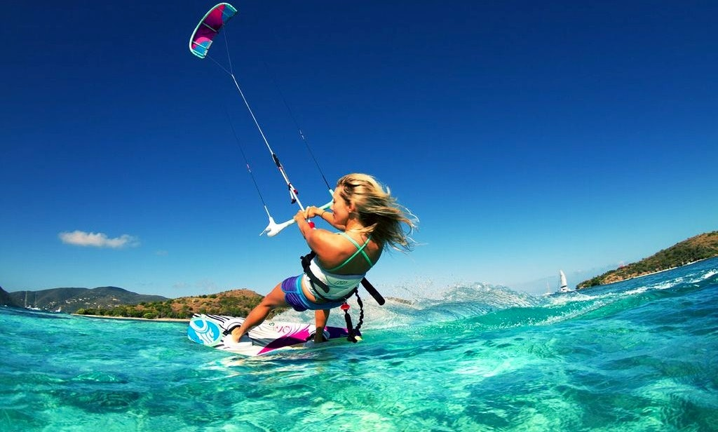 Image result for kitesurfing cayman islands