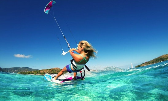 Kiteboarding Lesson In Cayman Islands