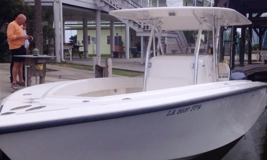 Book A Fishing Trip On The 34' Venture Fishing Boat In Cocodrie, La