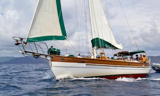 Silmaril Yacht Charter In Peter Island