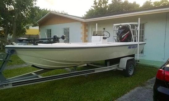 Go Fishing In Miami, Florida On 16' Skiff Fishing Boats With Captain Tony