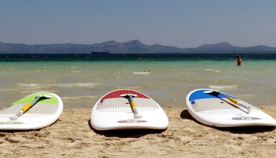 Stand Up Paddleboard Rental In Alcúdia