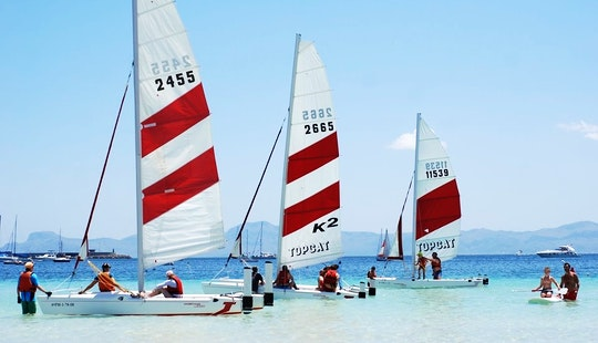 Hire Topcat K2 Sailing Catamaran  In Alcúdia