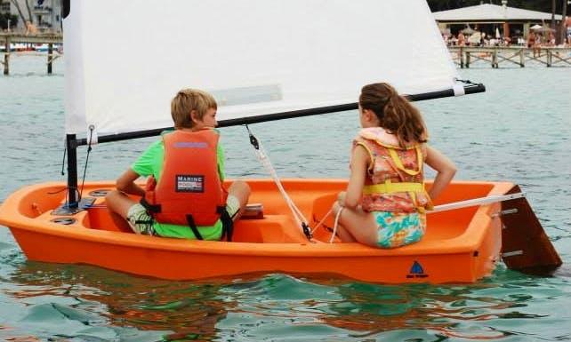 Optimist Boat Rental in Alcúdia