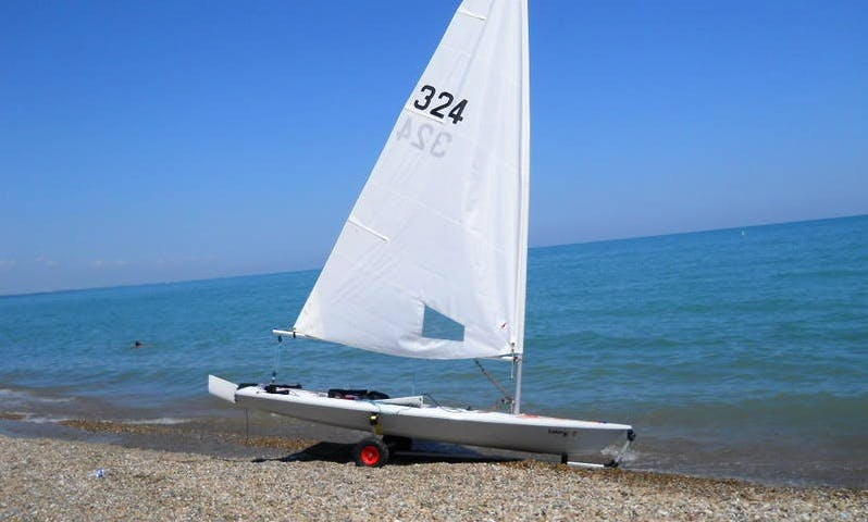 Hire Laser Classic Sailing Boats in Alcúdia