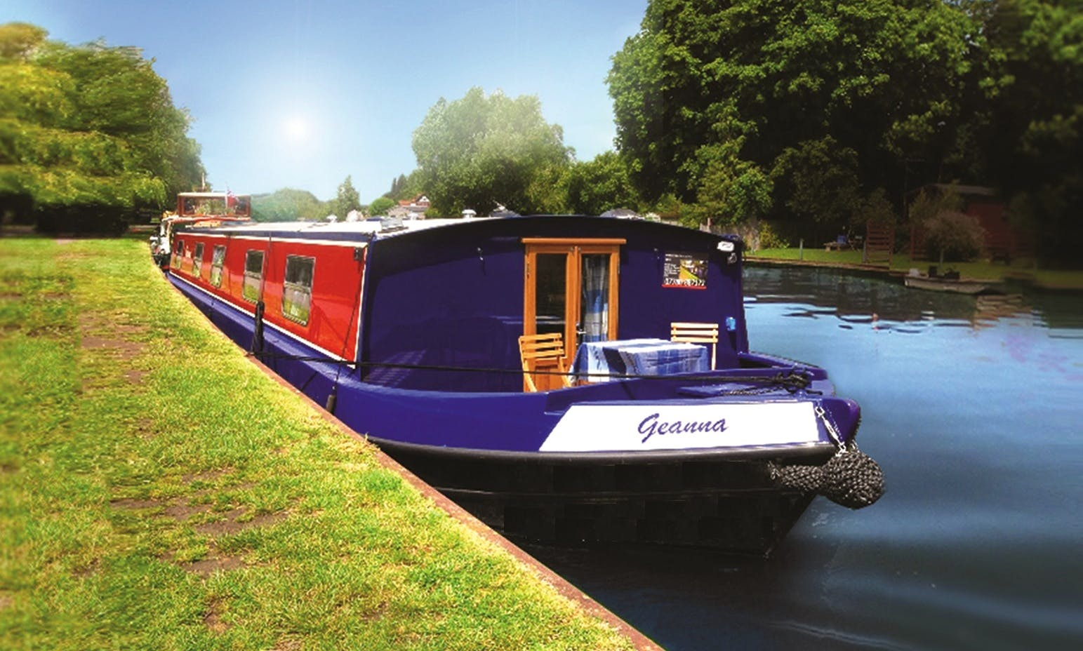 "Charter 62ft ""Geanna"" Houseboat In Henley-on-Thames, England"