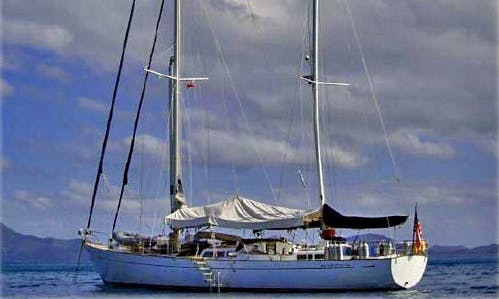 71' S/Y Oasis Sailing Yacht Charter In St Georges