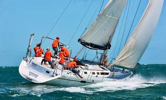 Charter 47' Beneteau Yacht In Grenada