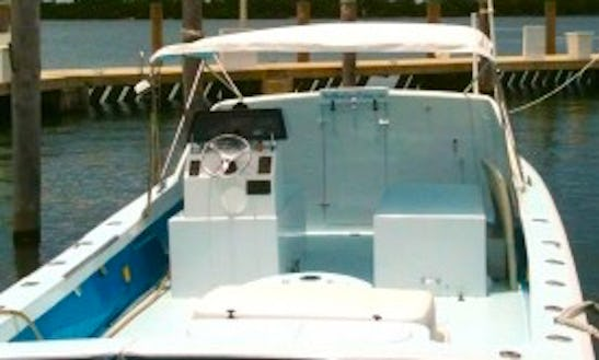 Miami Fishing Charter On 30' Crusader Sport Fisher With Captain Jack