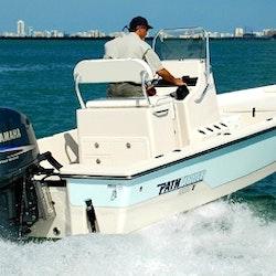 Enjoy fishing in naples florida on 22 39 pathfinder flats for Deep sea fishing naples fl