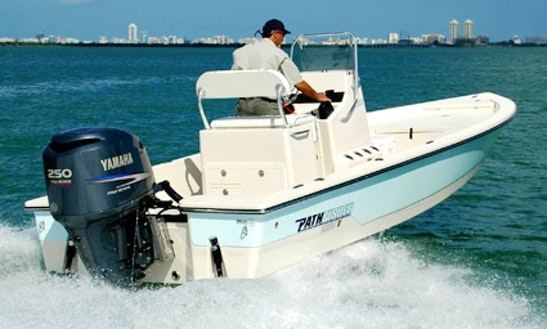 Enjoy Fishing In Naples, Florida On 22' Pathfinder Flats Center Console