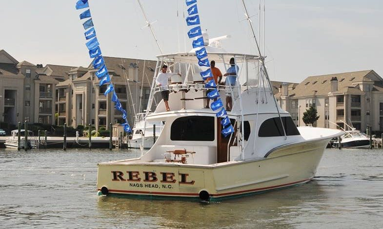 """Fishing Charter On 60' """"Ritchie Howell"""" Yacht In Virginia Beach, Virginia"""
