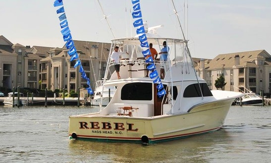 Fishing Chater On 60' Ritchie Howell Yacht In Virginia Beach, Virginia
