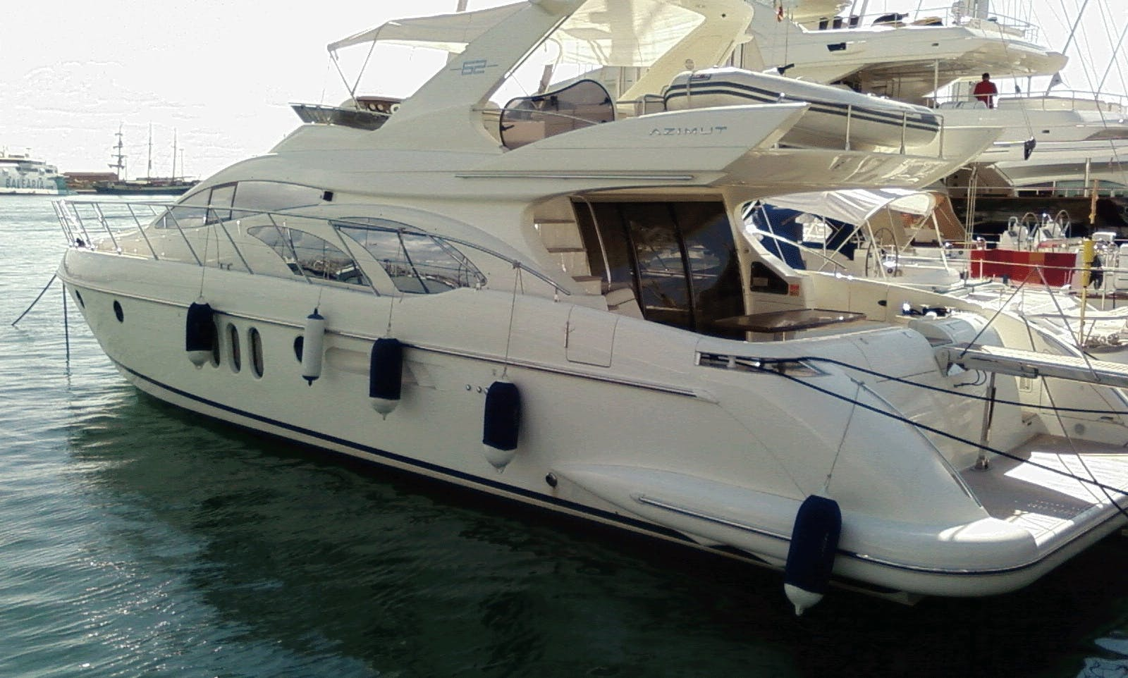 Private Azimut 62 Motor Yacht for Cruising in Crete, Greece