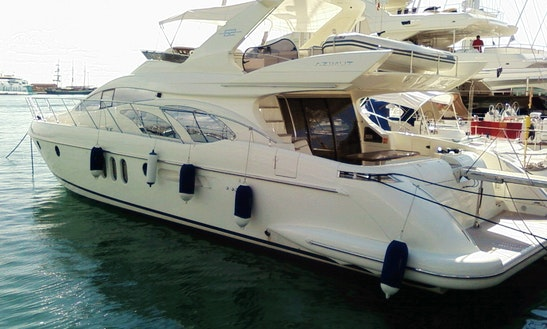 Private Motor Yacht Rental For Cruising In Crete, Greece