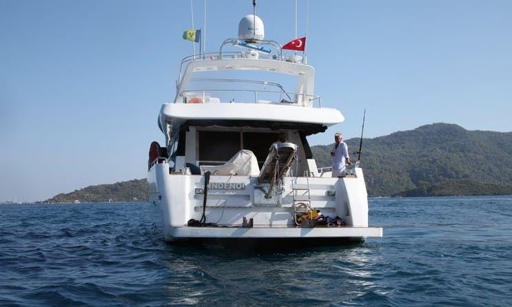 "The ""Indenoi"" Motor Yacht Charter in Marmaris, Turkey"