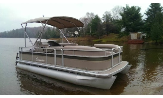 22' Pontoon Fishing Boat Rental In Ontario