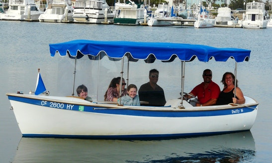 16ft Duffy Electric Boat Rental In Austin, Texas