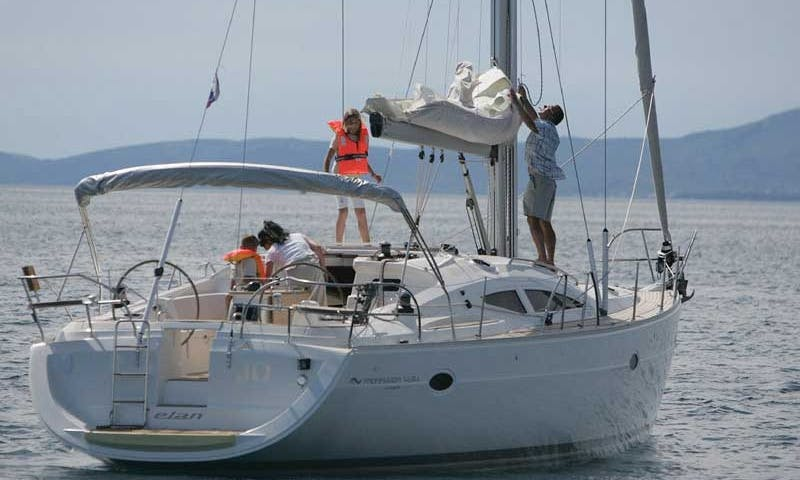 """Elan 434"" Sailing Yacht for Hire in Punta Ala, Italy"