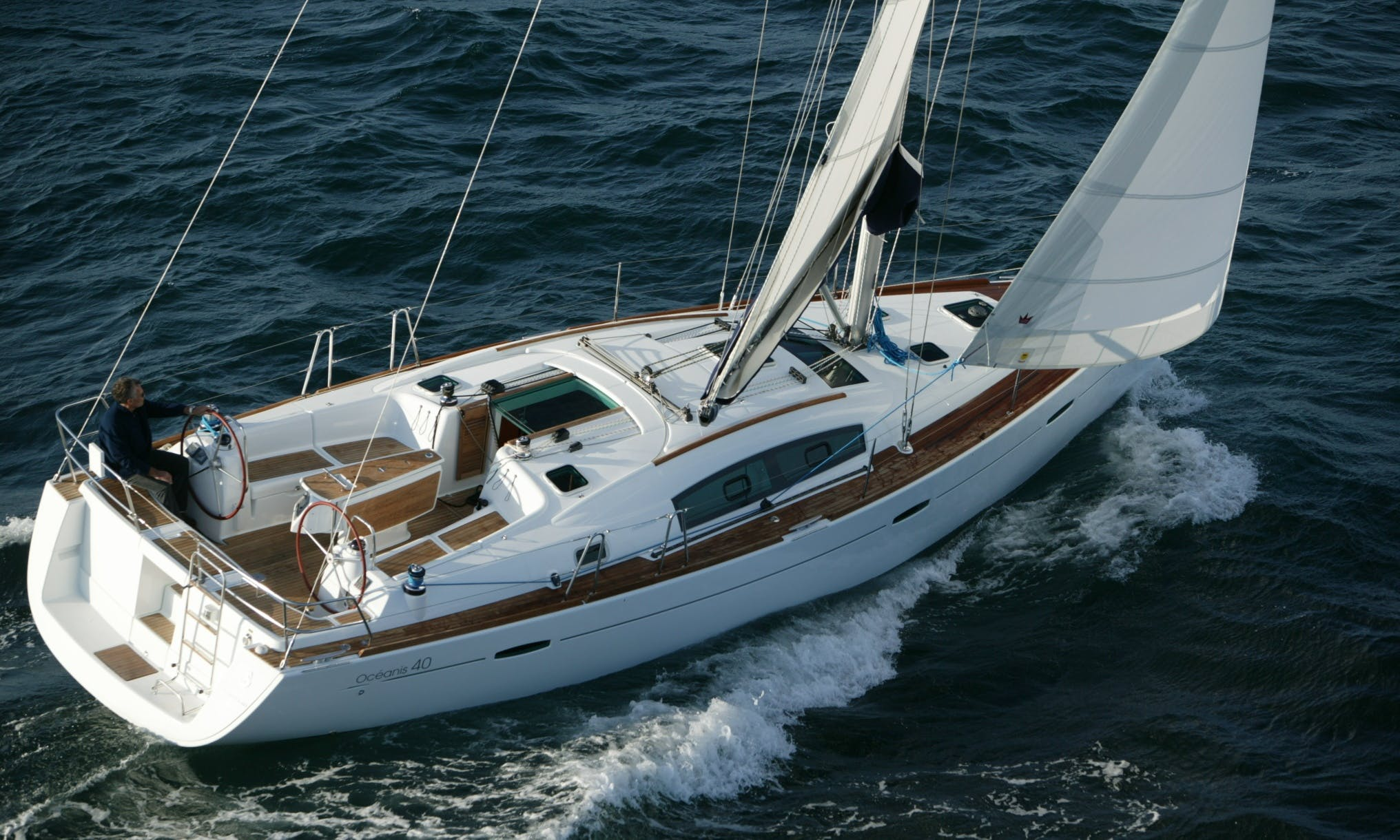 Charter an Oceanis 40 Sailboat in Punta Ala, Italy