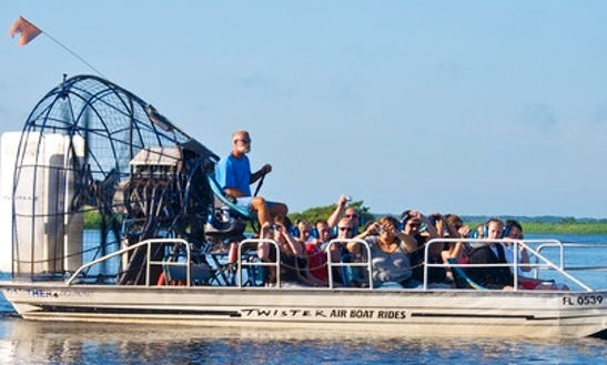 Airboat Tour In Cocoa, Florida