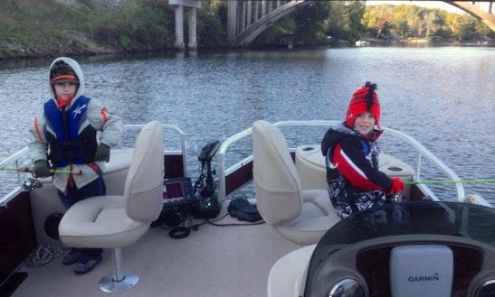 Pontoon Fishing Guide In Branson