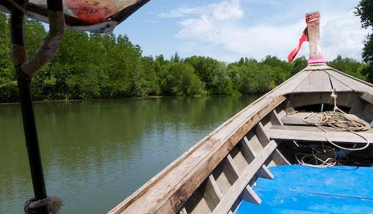 Canal Boat Rental In Krabi, Thailand