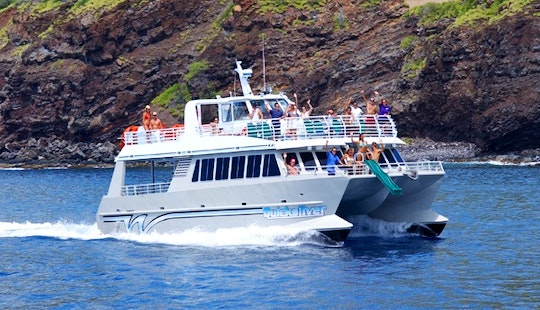Quicksilver Lanai Dolphin Watching, Snorkeling Tours, And Dinner Cruises