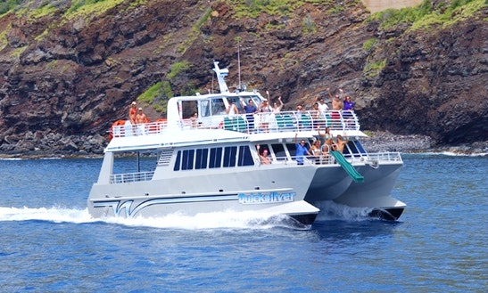 Quicksilver Lanai Snorkeling  Dolphin Encounters  Quicksilver Dinner Cruise