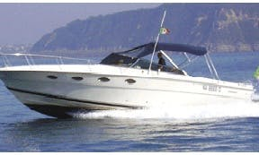"""Cruise on this """"Tornado 38"""" rental in Ischia, Italy"""