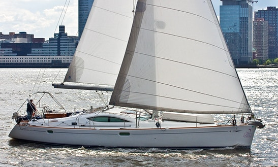Jeanneau 49ds Charter In Ny Harbor
