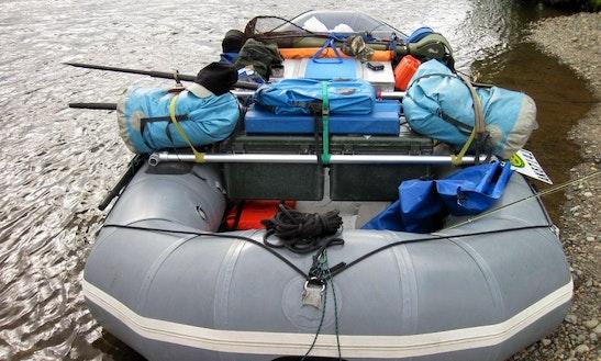 Scenic Rafting Trip In Kenai River, Alaska