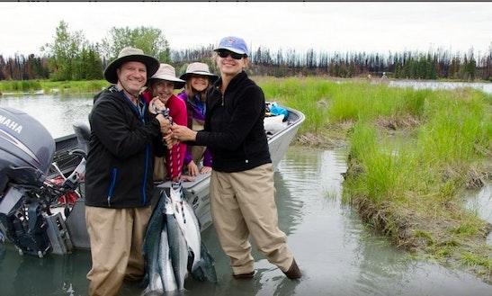 4 Hours Salmon Fishing Adventure On The Kenai River In Alaska!